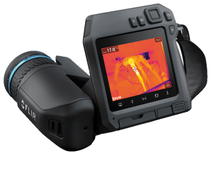 FLIR T560 termocamera front
