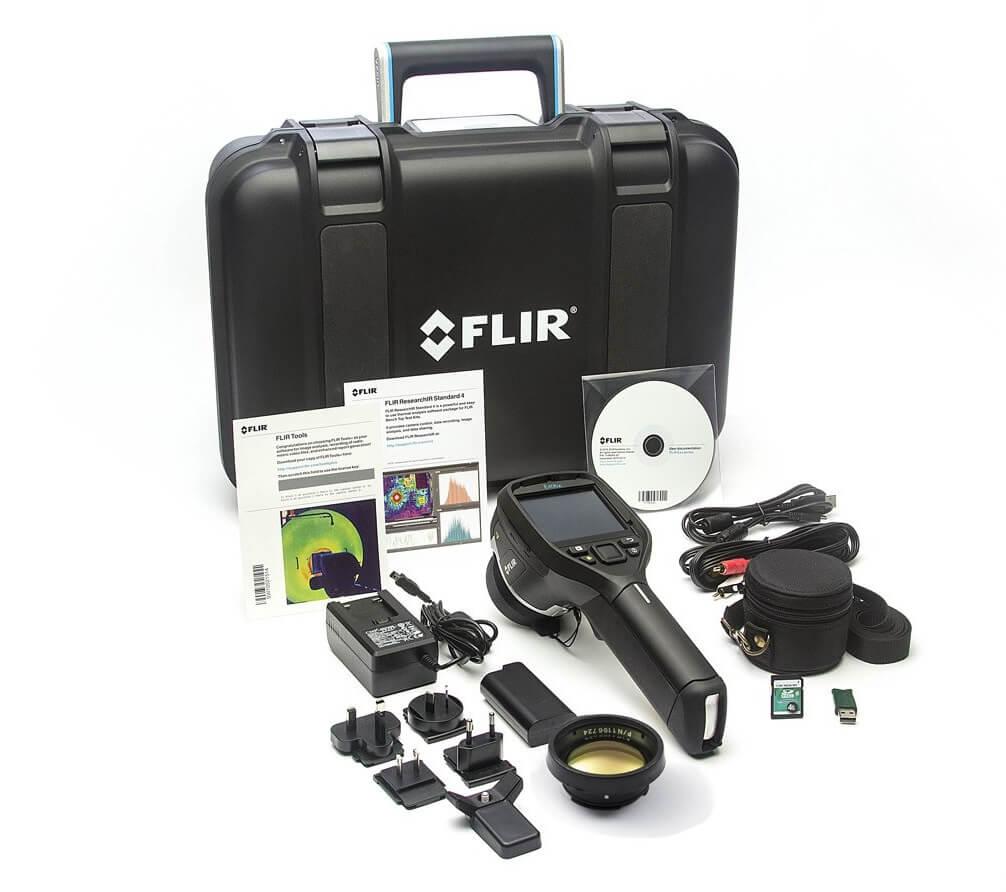 Termocamera FLIR E50bx Contenuto della confezione