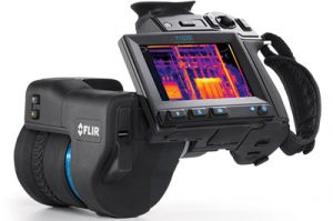 Termocamera FLIR T640 Frontale