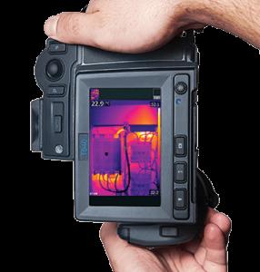 Termocamera FLIR T640bx con orientamento automatico
