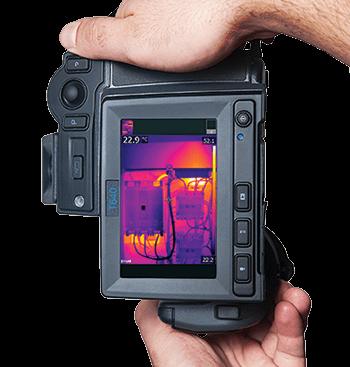 Termocamera FLIR T620bx con orientamento automatico