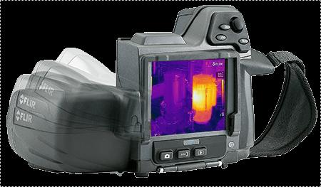Termocamera FLIR T440bx con orientamento automatico