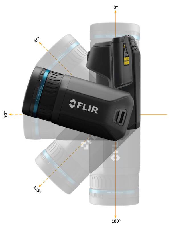 Termocamera FLIR T860 con ottica orientabile di 180°