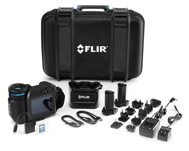 Termocamera FLIR T860 Contenuto della confezione