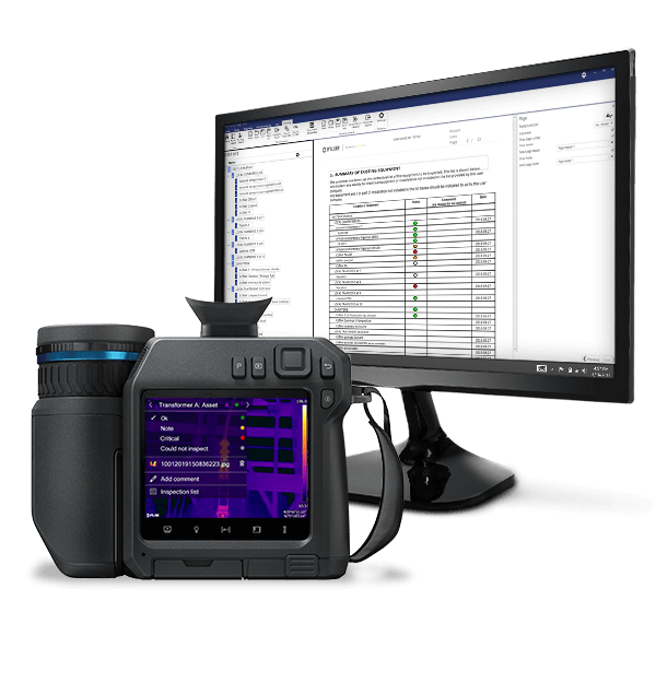 software FLIR Thermal Studio per report professionali e di qualità