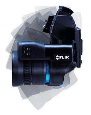 Termocamera FLIR T1010 ergonomica