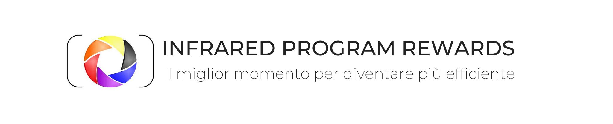 Logo infrared program rewards