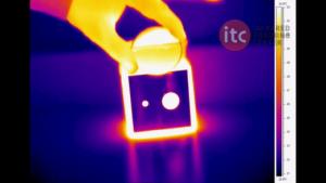 Obiettivi termocamere - germanio trasparente nell'infrarosso