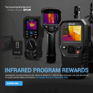 Promozione termocamere FLIR Infrared Program Rewards